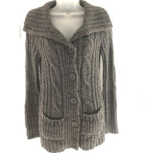 Chunky Gray Mossimo Sweater